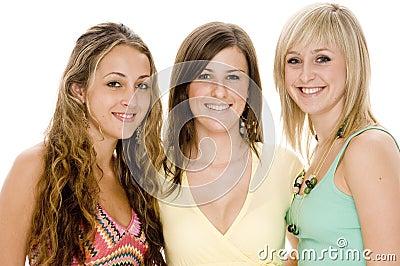 Vänner tre