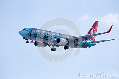 Boeing 737-800 TURKISH AIRLINES Globally Yours Editorial Photo