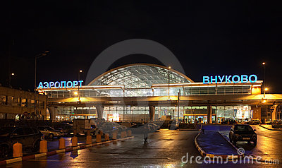 Vnukovo International Airport Editorial Image