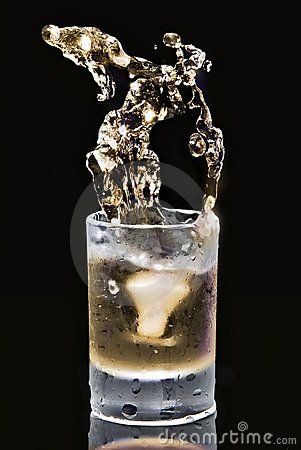 Vodka(color)an image from ancient greek myths