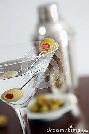 Vodka Martini Still Life