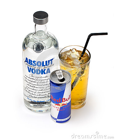 Free Vodka Redbull And Mix Stock Images - 27451494