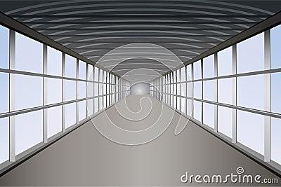 Voet tunnelvector
