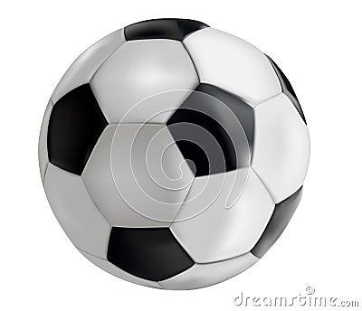 Royalty-vrije Stock Afbeeldingen: Voetbal-bal