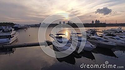 Vogelperspektive vom Kreml stock footage