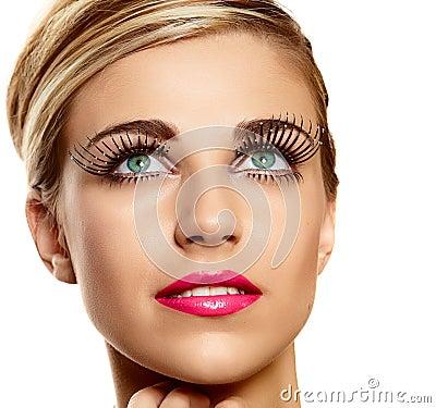 Vogue long lashes