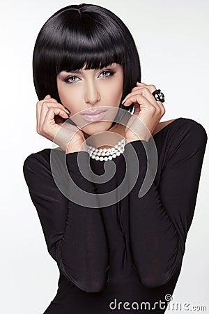 Vogue Style. Fashion Beauty Woman.