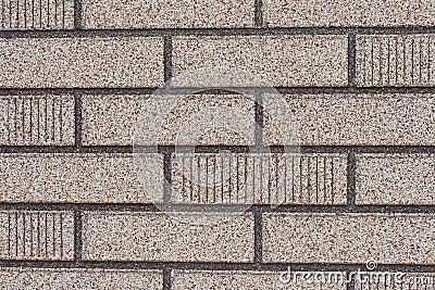 voie de garage grise fausse de mur de briques photo libre de droits image 17729735. Black Bedroom Furniture Sets. Home Design Ideas