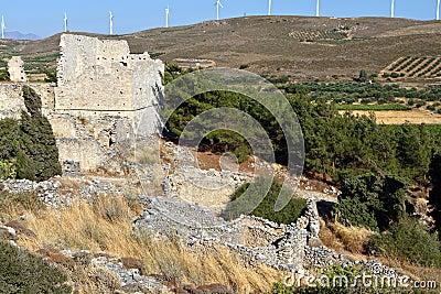 Voila medieval settlement at Crete island