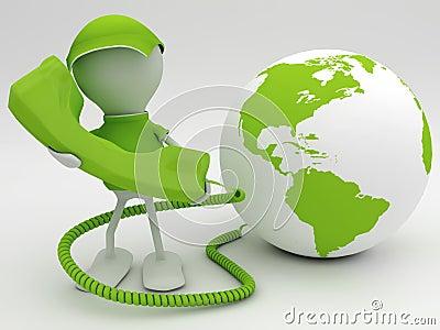 VoIP concept