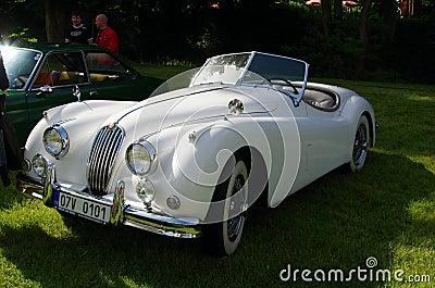 voiture ancienne jaguar image ditorial image 47936445. Black Bedroom Furniture Sets. Home Design Ideas