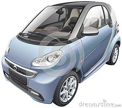 voiture moderne de petite voiture image libre de droits image 29439006. Black Bedroom Furniture Sets. Home Design Ideas