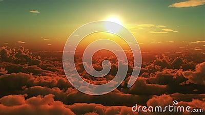Vol dans les nuages
