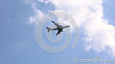 Vol de Jet Airliner aérien banque de vidéos