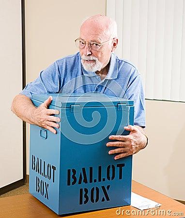 Vol de l élection