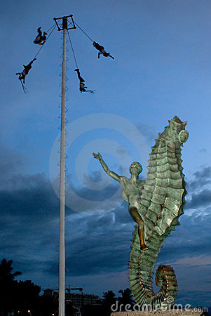 Voladores of Papantla Editorial Photography