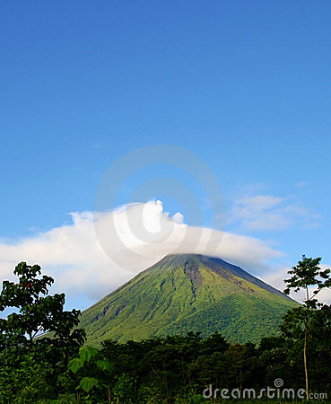 Volcan d Arenal au Costa Rica