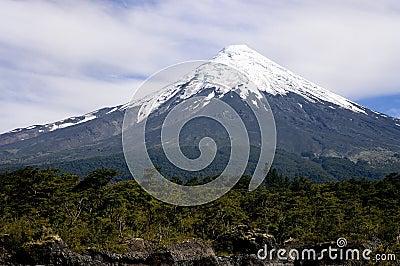 Volcan Osorno in Chile