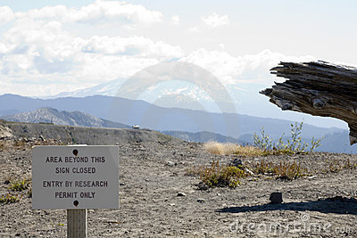 Volcanic ash, Mt. St. Helens