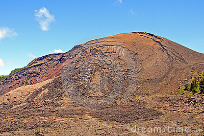 Volcanic Cone in Hawaii