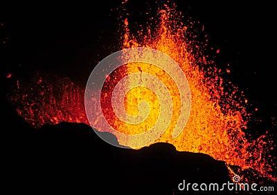 Volcanic eruption 2