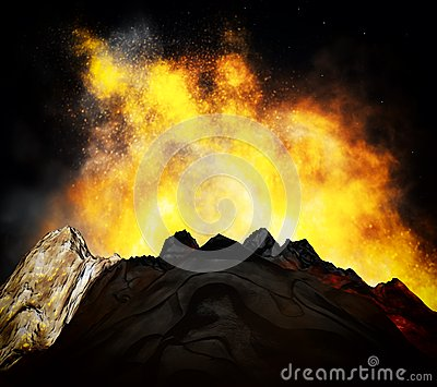 Volcanic Eruption Stock Images - Image: 29254564