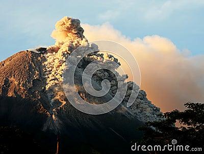 Volcanic  eruption mountain  activity