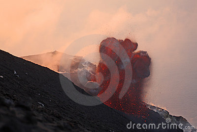 Volcanic eruption part 3