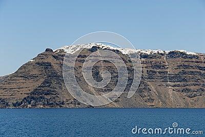 Volcanic island Santorini, Greece