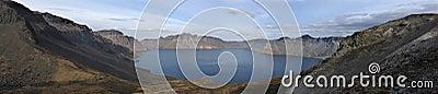 Volcanic lake,