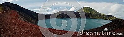 Volcanic lake