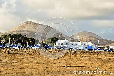 Volcanic landscape, Lanzarote