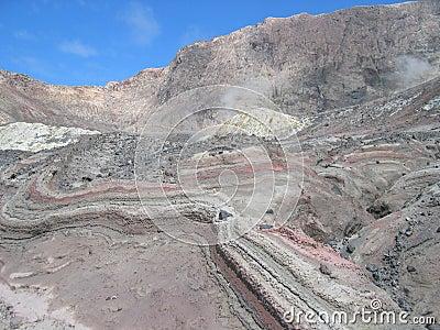 Volcanic sediments