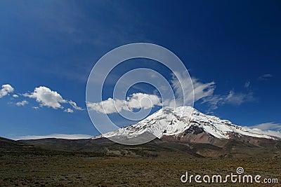Volcano Chimborazo (6310 m)