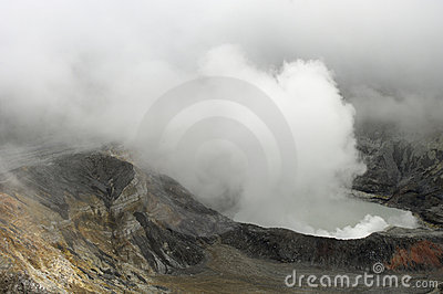 Volcano Crater Royalty Free Stock Photography - Image: 6758977