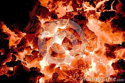 Volcano embers 2