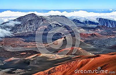 Volcano Haleakala, Hawaii (Maui)