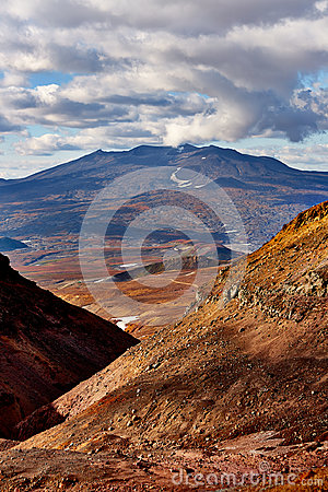 Free Volcano Of Kamchatka, Russia Royalty Free Stock Image - 95621296