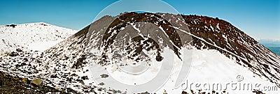 Volcano summit