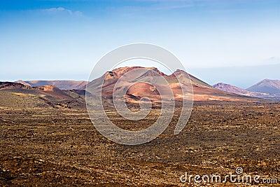 Volcano in Timanfaya, Lanzarote
