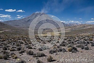 Volcano Ubinas