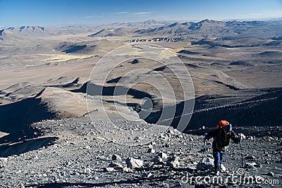 Volcano Ubinas Editorial Photo