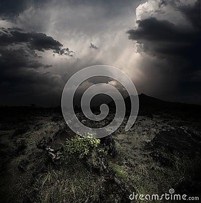 Free Volcanoes Stock Image - 27074571