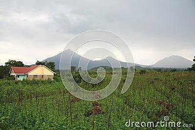 Volcanoes in Kisoro, Uganda