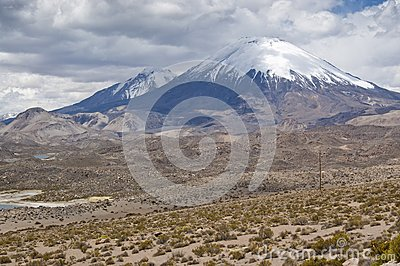 Volcanos at Andes
