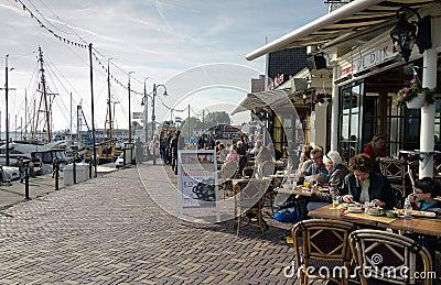 Volendam Editorial Stock Image