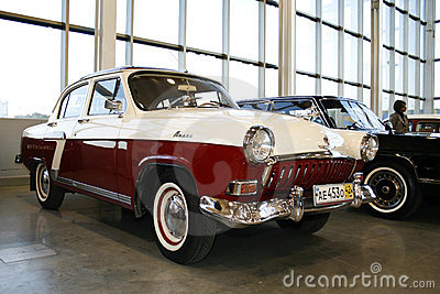 Volga GAZ-21 Editorial Stock Photo