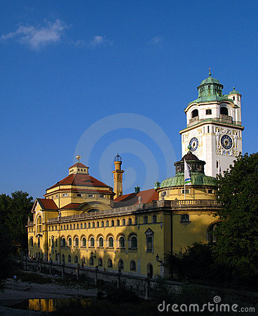 Free Volksbad, Munich, Germany Stock Photo - 3123610