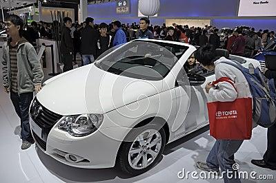 Volkswagen EOS Cabrio Editorial Stock Image