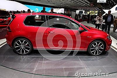Volkswagen Golf GTI Editorial Photo